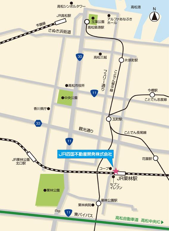 本社所在地マップ